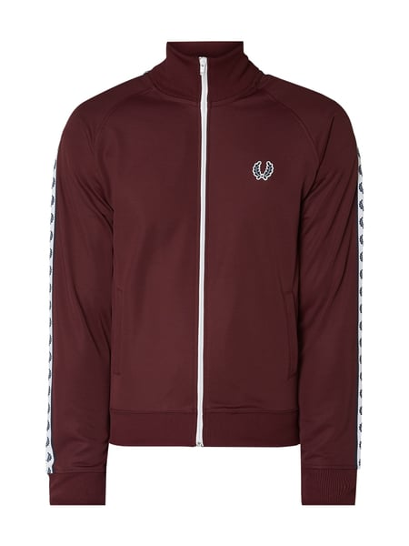 Fred Perry Trainingsjacke mit Logo-Details Rot - 1