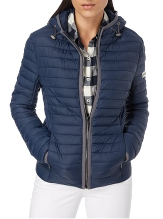 Frieda & Freddies Steppjacke mit Wattierung Marineblau - 1