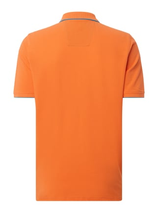 Fynch-Hatton Casual Fit Poloshirt aus Baumwoll-Piqué Orange - 1