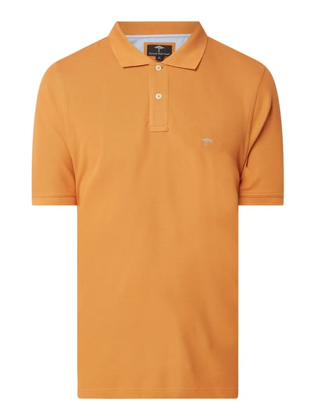 Fynch-Hatton Poloshirt aus Supima®-Baumwolle Orange - 1