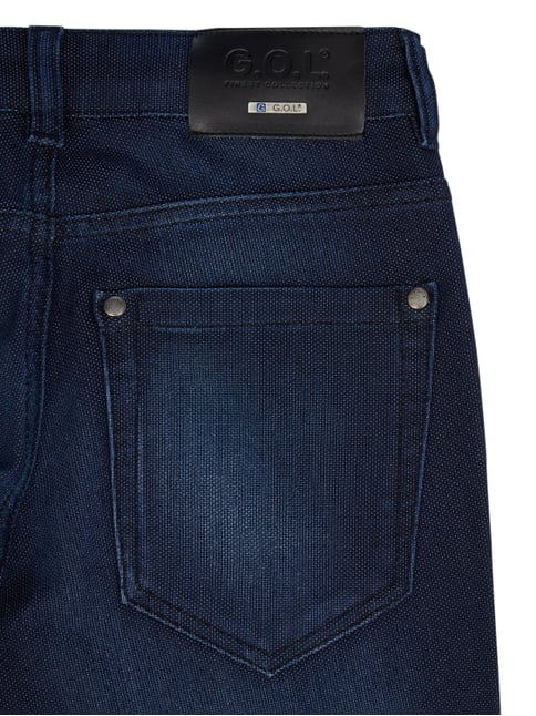 Stone Washed Slim Fit 5-Pocket-Jeans G.O.L. online kaufen - 1