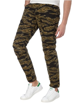 G-Star Raw 3D Tapered Fit Hose mit Camouflage-Muster Schilf - 1