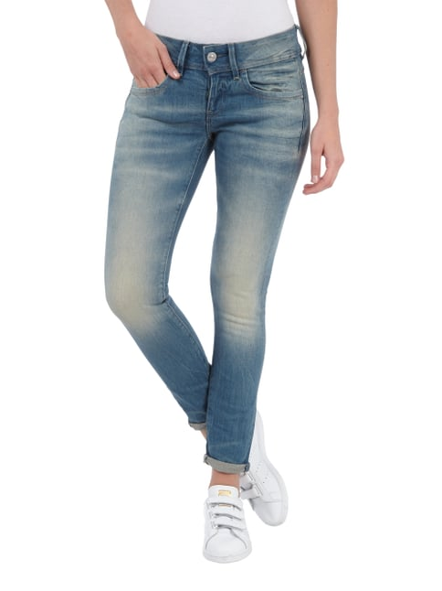 G-Star Raw Bleached Mid Rise Fit Jeans im Skinny Fit Jeans - 1