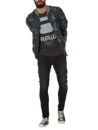 G-Star Raw Bomber mit Camouflage-Muster in Grün - 1