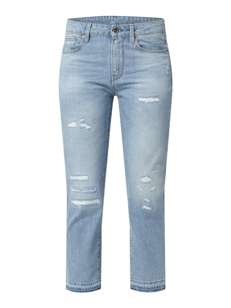 G-Star Raw Boyfriend Fit Jeans mit Destroyed-Effekten Blau - 1