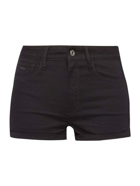 G-Star Raw 3301 Ultra High - Coloured 5-Pocket-Jeansshorts Schwarz