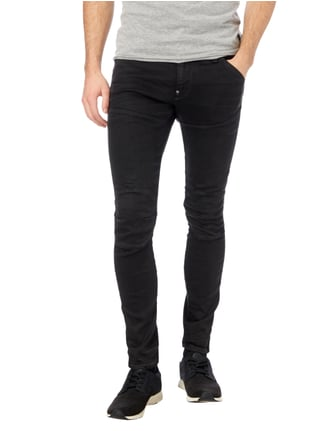 G-Star Raw Coloured Super Slim Fit Jeans Schwarz - 1