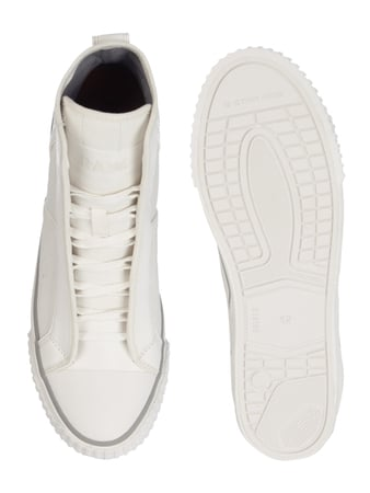 G-Star Raw High Top Sneaker aus Canvas Offwhite - 1