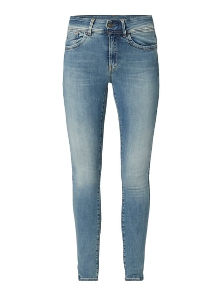G-Star Raw High Waist Super Skinny Fit Jeans Blau - 1