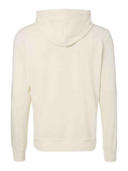 G-Star Raw Hoodie mit Frottee-Logo Offwhite - 1