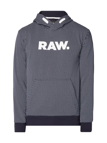 G-Star Raw Seyal Art Hdd Sw - Hoodie mit Logo-Print Marineblau