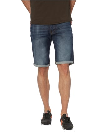 G-Star Raw Jeansbermudas im Used Look Blau - 1