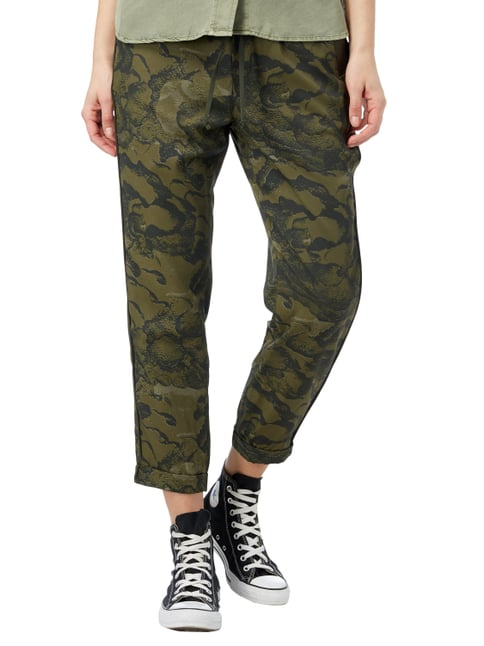 G-Star Raw Jogpants mit Camouflage-Muster Olivgrün - 1