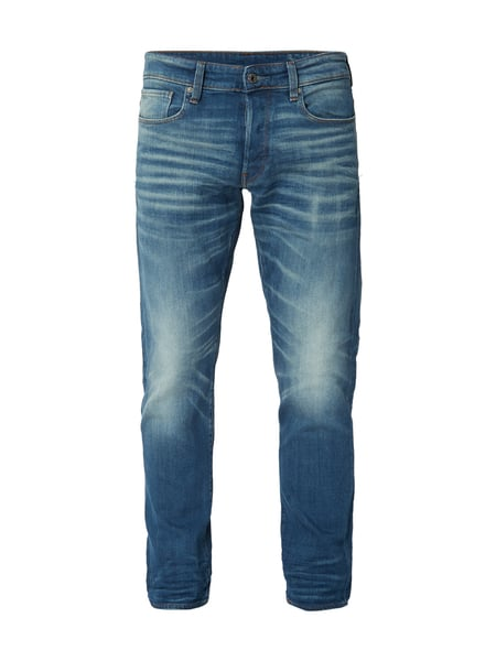 G-Star Raw 3301 Tapered - Old Blue Washed Tapered Fit 5-Pocket-Jeans Jeans