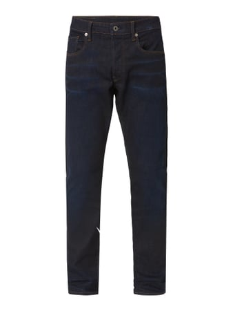 G-Star Raw One Washed Tapered Fit Jeans Blau - 1