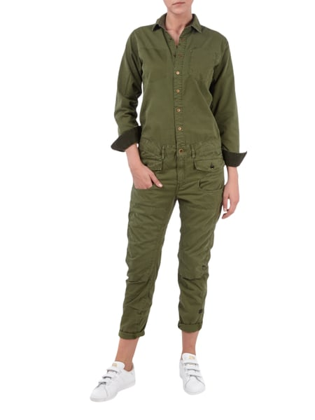 free shipping 44e0a d53d5 Overall im Military-Look