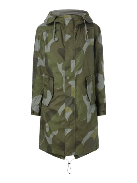 g star raw parka mit camouflage muster in gr n online kaufen 9655368 p c online shop. Black Bedroom Furniture Sets. Home Design Ideas