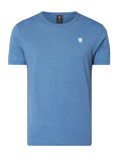G-Star Raw Regular Fit T-Shirt mit Logo-Stickerei Blau - 1