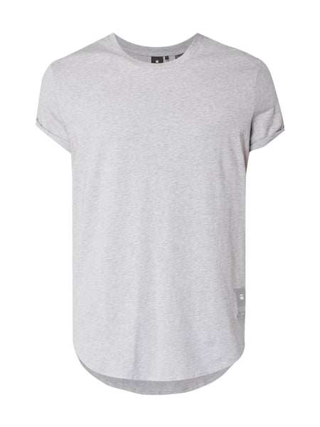 G-Star Raw Shelo Relaxed R - Relaxed Fit T-Shirt aus Baumwolle Mittelgrau meliert