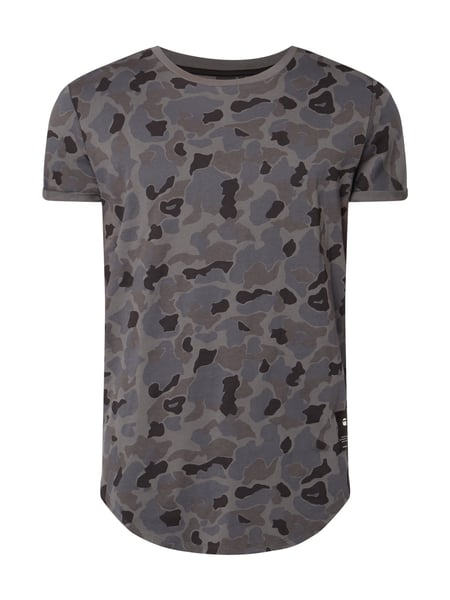 G-Star Raw Shelo Camo Relax - Relaxed Fit T-Shirt mit Camouflage-Muster Schwarz