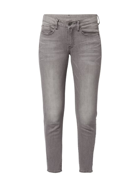 G-Star Raw 3301 Deconst - Stone Washed Skinny Fit 5-Pocket-Jeans Jeans
