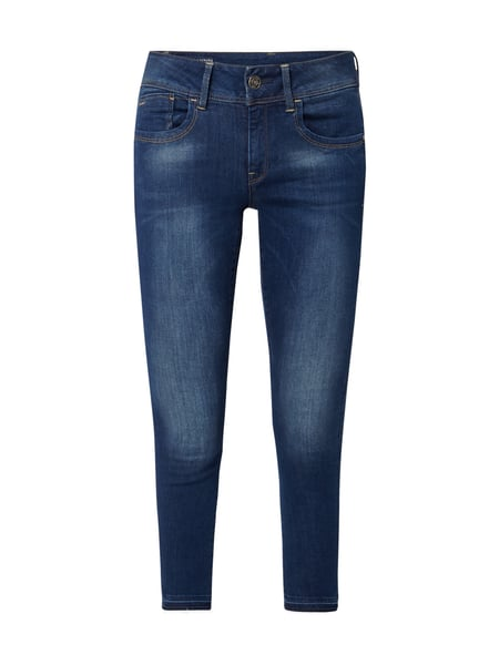 G-Star Raw Lynn Mid Skinny - Stone Washed Skinny Fit Jeans Jeans