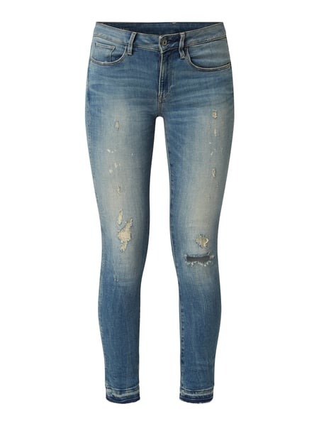 G-Star Raw Skinny Fit Jeans mit Stretch-Anteil Blau - 1