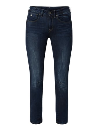 G-Star Raw Skinny Fit Jeans mit Stretch-Anteil Schwarz - 1