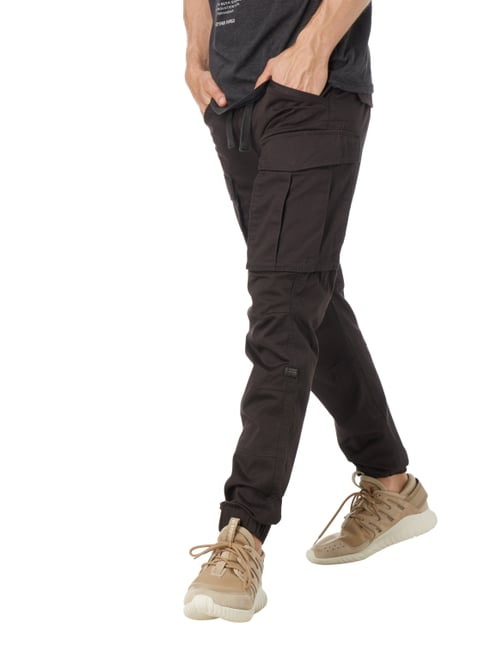 G-Star Raw Slim Fit Cargohose mit Tunnelzug Dunkelgrau - 1