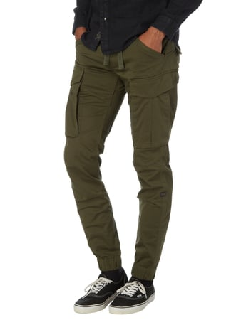 G-Star Raw Slim Fit Cargohose mit Tunnelzug Olivgrün - 1