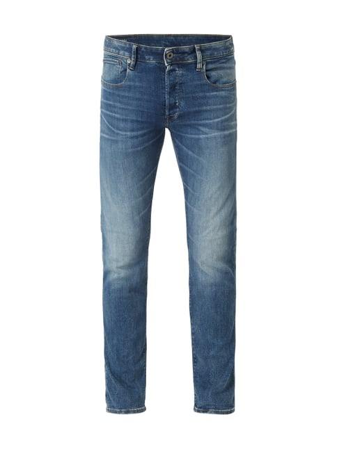 fb8489bdfd62 G-Star Raw Stone Washed Slim Fit Jeans aus BCI Cotton Blau   Türkis ...