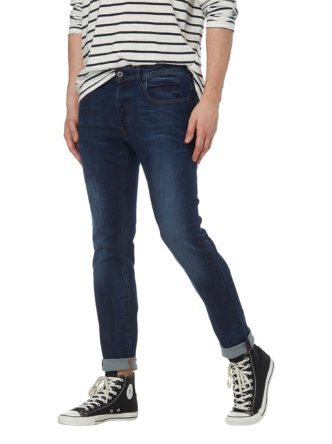 G-Star Raw Stone Washed Slim Fit Jeans Marineblau - 1