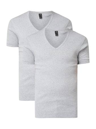 G-Star Raw Slim Fit T-Shirt aus Organic Cotton Grau - 1