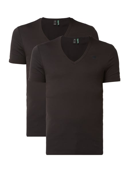 G-Star Raw Slim Fit T-Shirt aus Organic Cotton Schwarz - 1