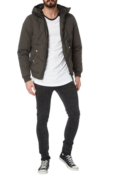 g star raw steppjacke mit kapuze wattiert in gr n online kaufen 9683473 p c online shop. Black Bedroom Furniture Sets. Home Design Ideas