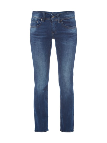 G-Star Raw Midge Saddle Mid - Stone Washed Straight Fit Jeans Jeans