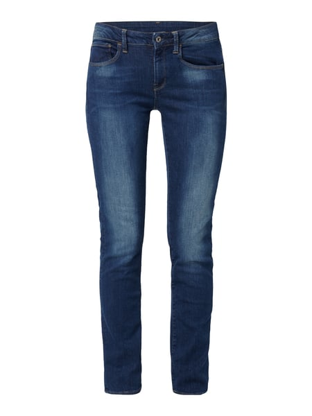 G-Star Raw 3301 D Mid Strai - Stone Washed Straight Fit Jeans Jeans