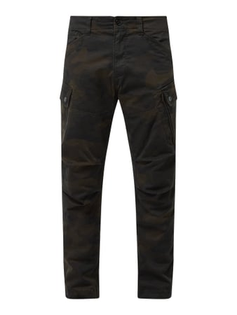 G-Star Raw Straight Tapered Fit Cargohose mit Stretch-Anteil Grün - 1
