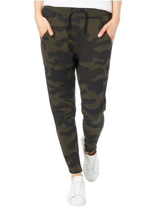 G-Star Raw Sweatpants mit Camouflage-Muster Olivgrün - 1