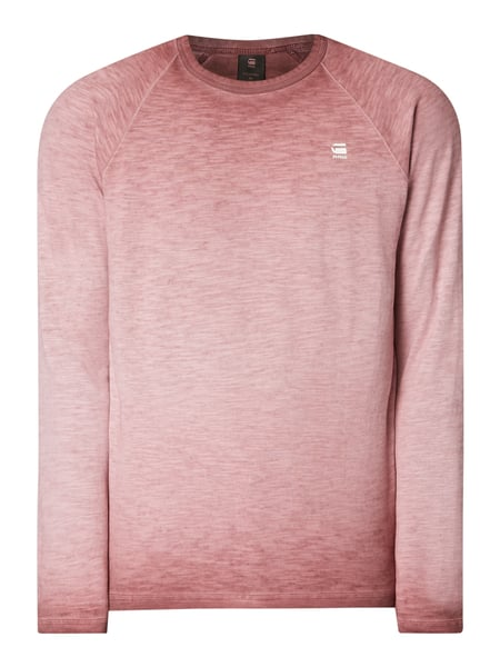 G-Star Raw Sweatshirt im Washed Out Look Rot - 1