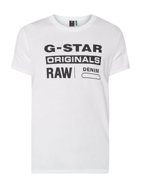 G-Star Raw T-Shirt aus Organic Cotton Weiß - 1