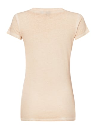 G-Star Raw T-Shirt im Washed Out Look Rosa meliert - 1