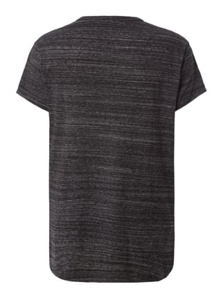 G-Star Raw T-Shirt in Melangeoptik Anthrazit meliert - 1