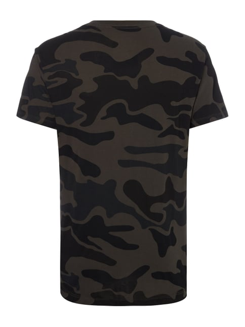 G-Star Raw T-Shirt mit Camouflage-Muster Dunkelgrau - 1