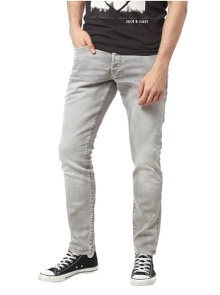 G-Star Raw Tapered Fit 5-Pocket-Jeans im Stone Washed-Look Hellgrau - 1