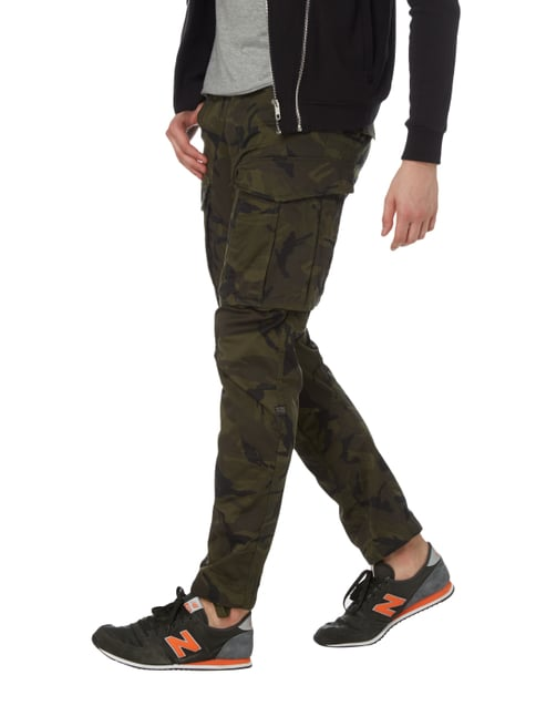 G-Star Raw Tapered Fit Cargohose mit Camouflage-Muster Dunkelgrau - 1