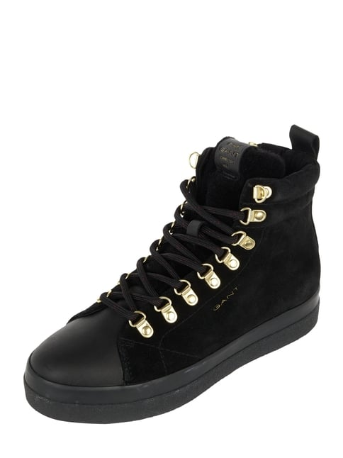 sale retailer 88db0 fb7fb High Top Sneaker aus Veloursleder