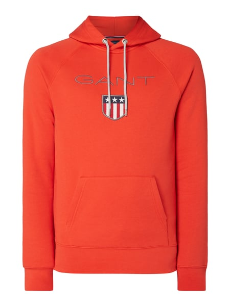 Gant Hoodie mit Logo-Stickerei Orange - 1