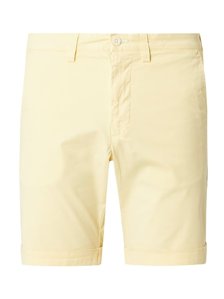 Gant Regular Fit Chinoshorts mit Stretch-Anteil Gelb - 1