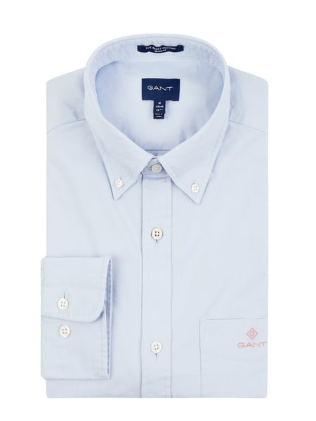 Gant Regular Fit Freizeithemd aus Oxford Blau - 1